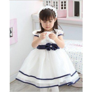 Princess Flower Belt Dress