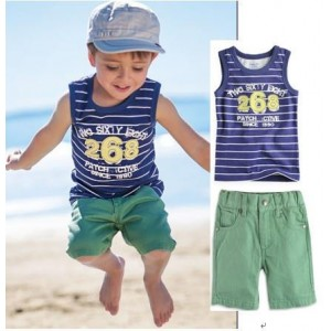 Boy Striped Casual Sets