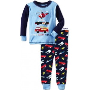 Mommy's Little Man Long Pajamas