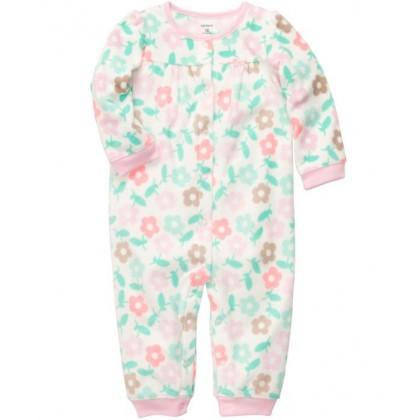 Baby Girls Flowers Jumpsuit