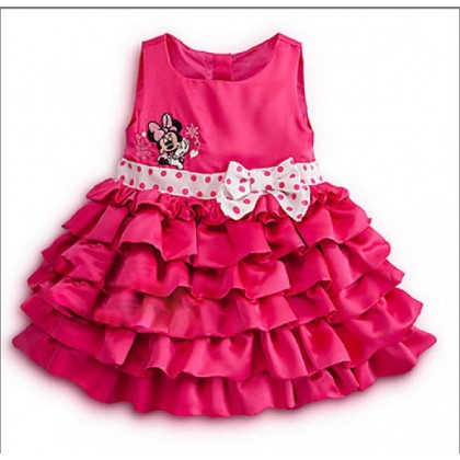 Minnie Mouse Dot Bow Dress