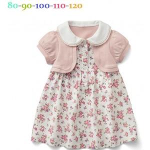 Cute Floral Girl Dress