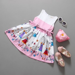 Cartoon Character Girl Dress